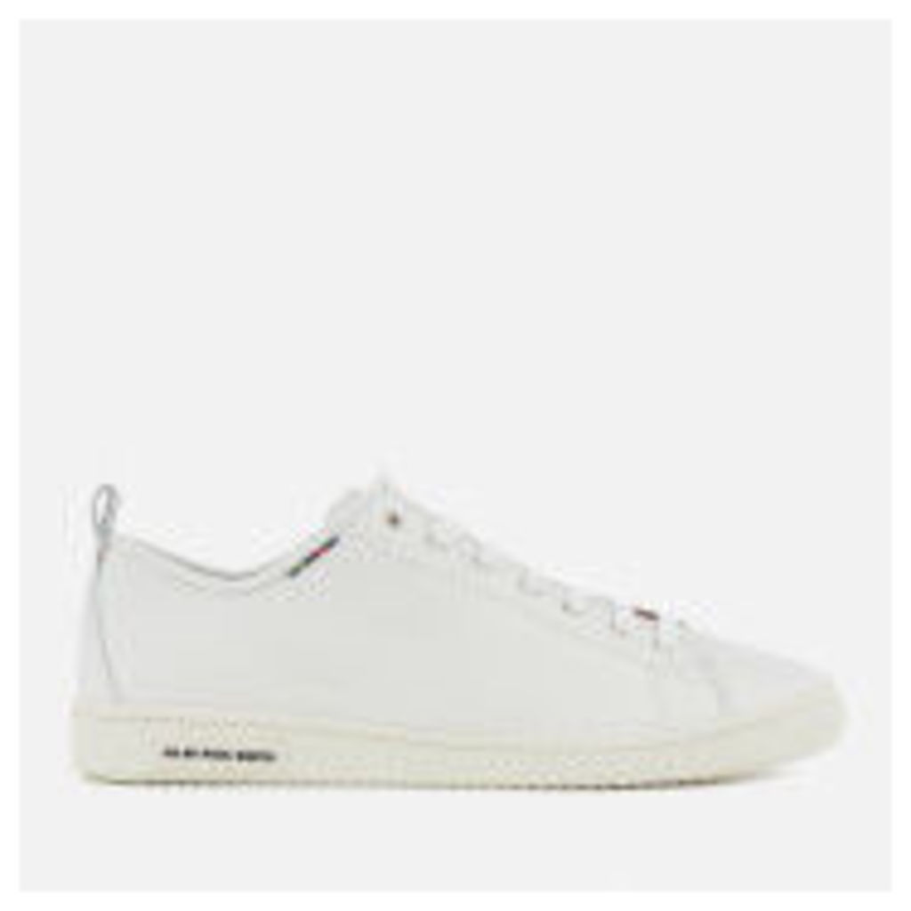 PS by Paul Smith Men's Miyata Leather Trainers - White - UK 8