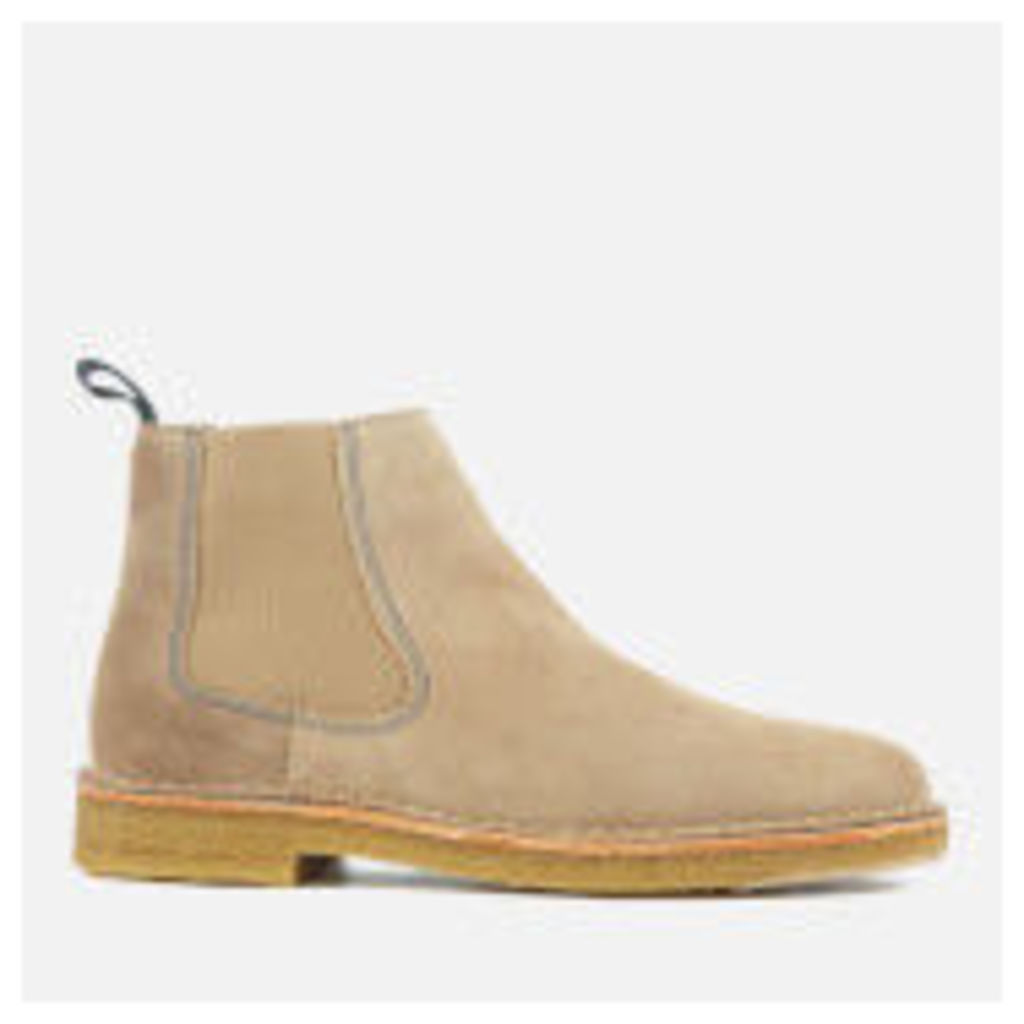 PS by Paul Smith Men's Dart Suede Chelsea Boots - Taupe - UK 11