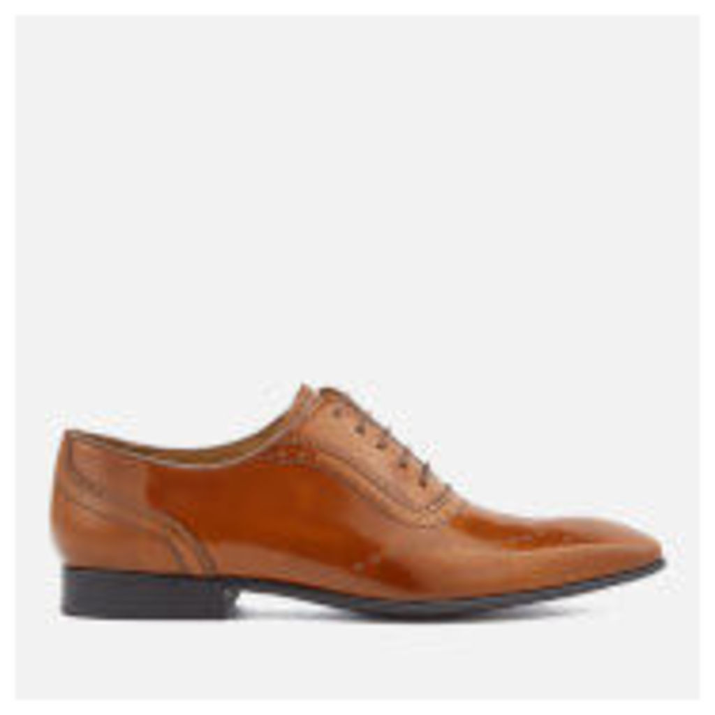 PS by Paul Smith Men's Adelaide Leather High Shine Oxford Shoes - Tan - UK 11
