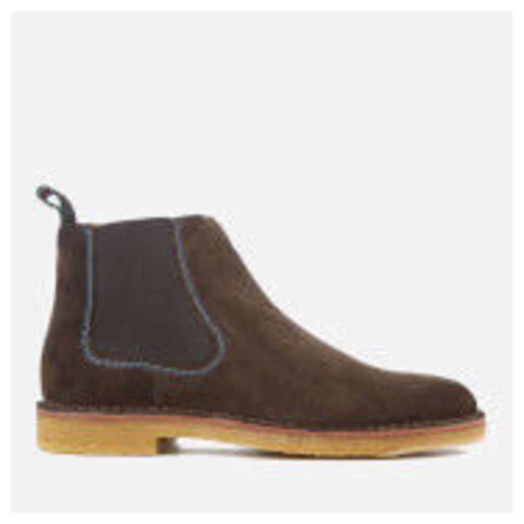 PS by Paul Smith Men's Dart Suede Chelsea Boots - Dark Brown - UK 11