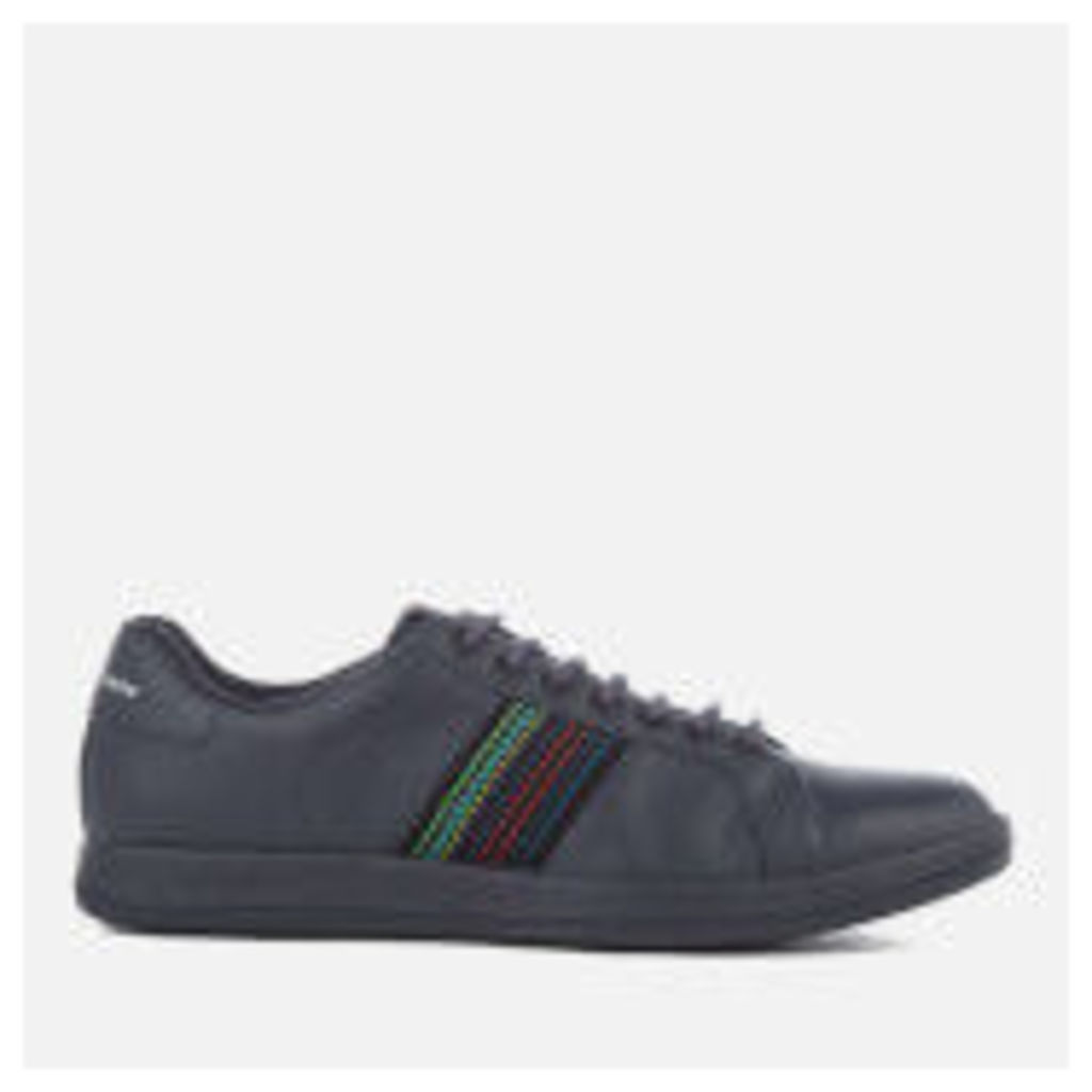PS by Paul Smith Men's Lapin Leather Cupsole Trainers - Dark Navy - UK 11