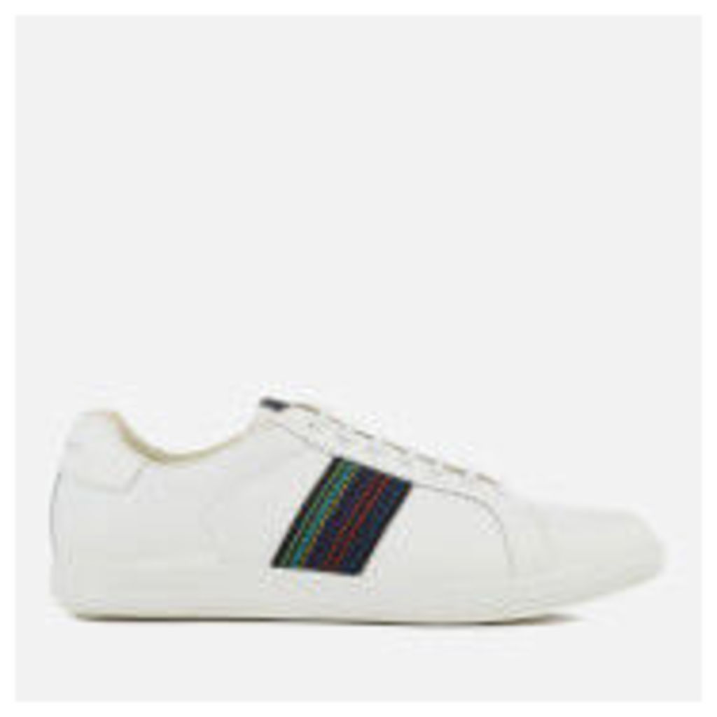 PS by Paul Smith Men's Lapin Leather Cupsole Trainers - White - UK 11