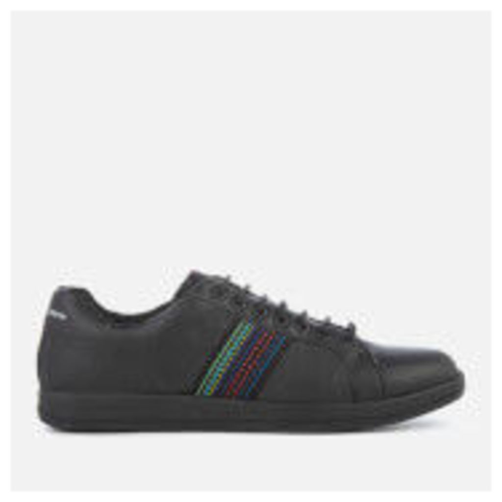 PS by Paul Smith Men's Lapin Leather Cupsole Trainers - Black - UK 11
