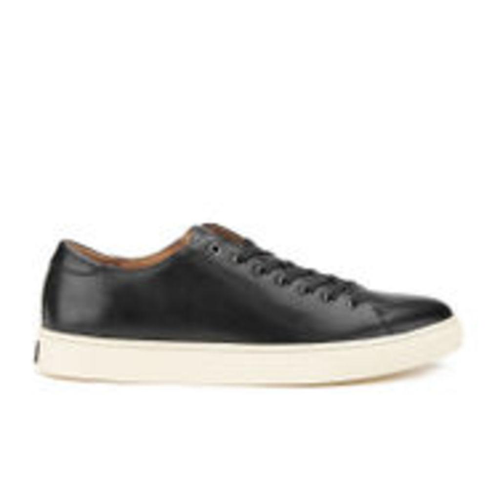 Polo Ralph Lauren Men's Jermain Leather Trainers - Black - UK 8