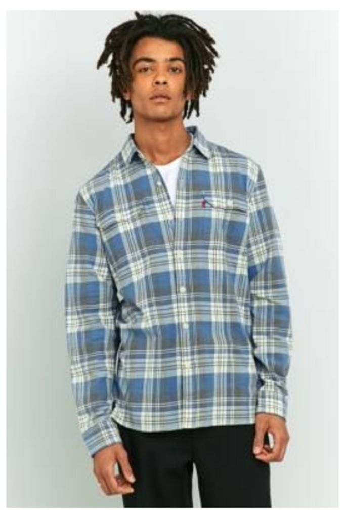 Levi's Jackson Blue Check Worker Shirt, BLUE