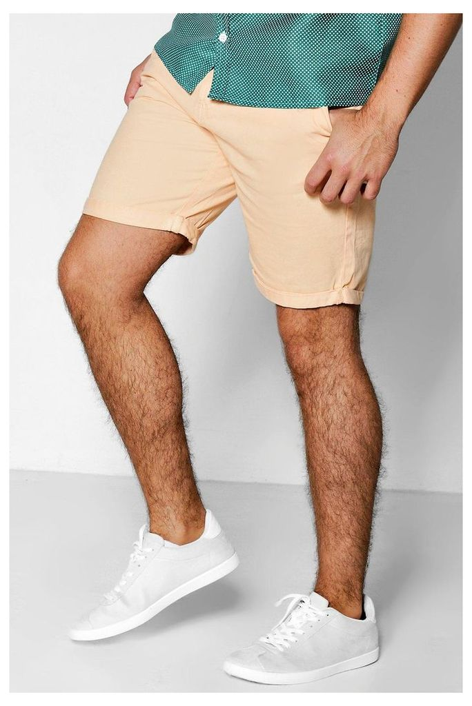 Chino Shorts - peach