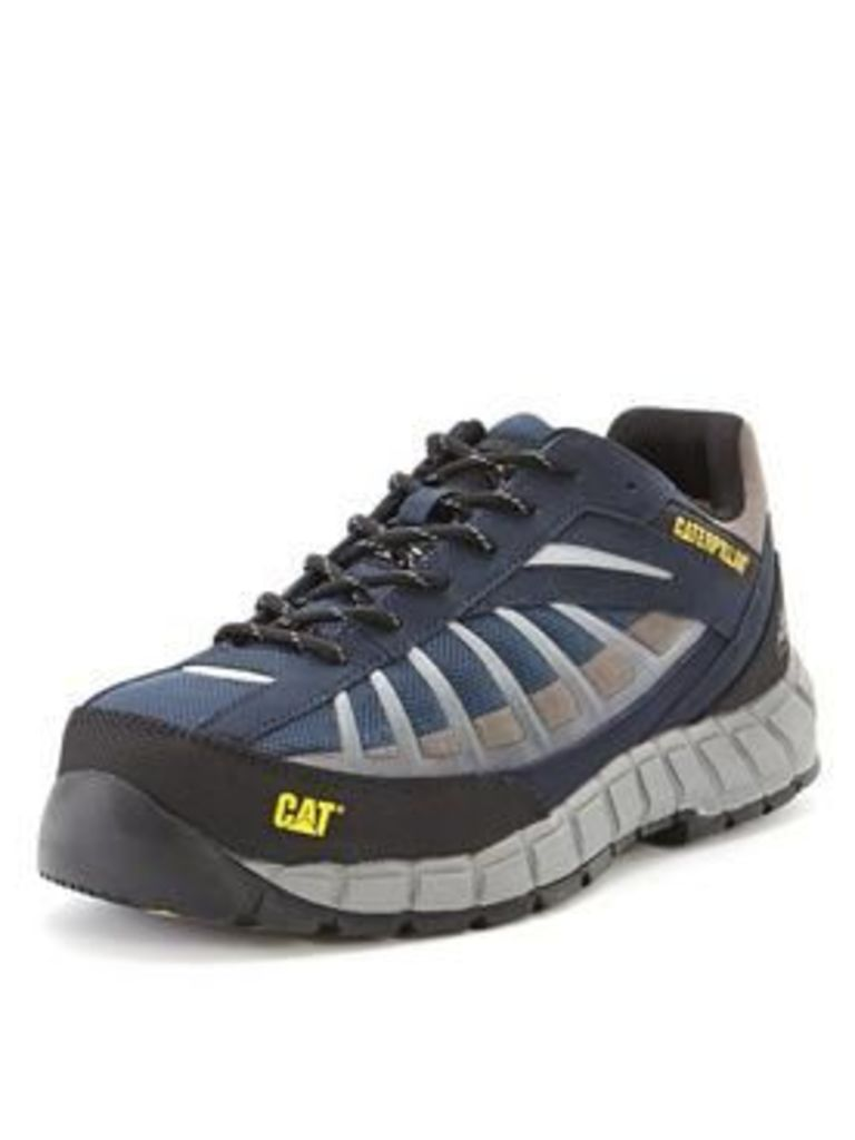 CAT Infrastructure Safety Trainers, Navy, Size 11, Men