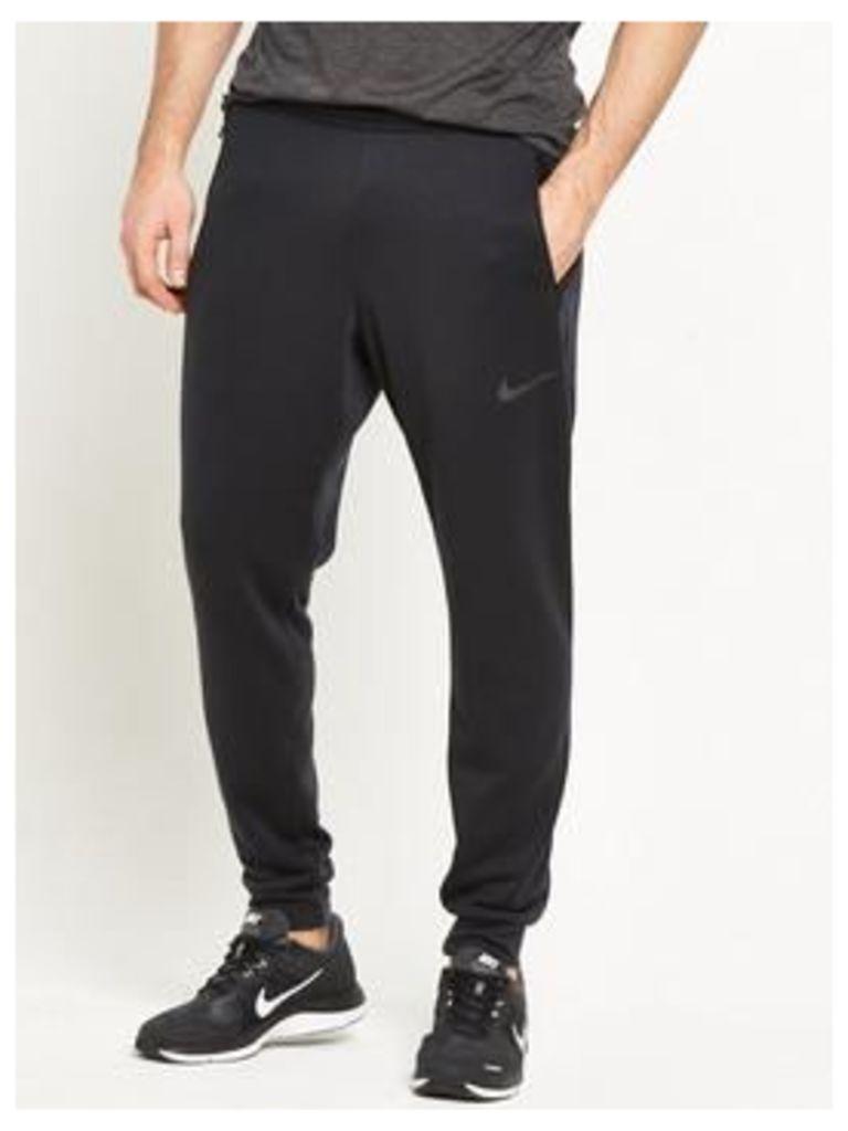 Nike Dry Training Hyper Fleece Pant, Black, Size L, Men