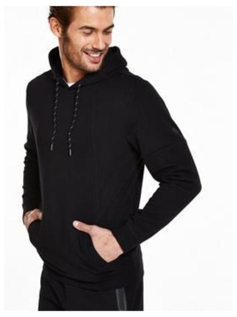 V by Very Overhead hoodie, Black, Size M, Men