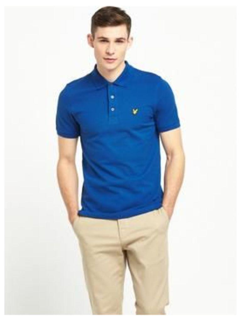 Lyle & Scott Polo Shirt, True Blue, Size S, Men