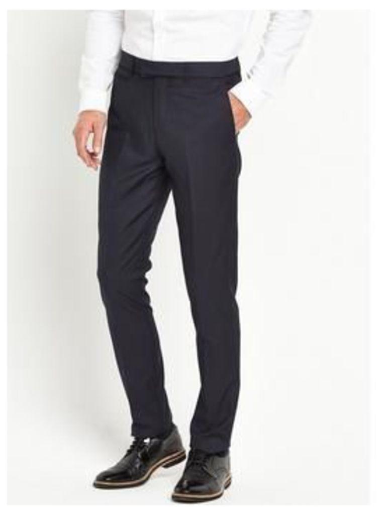 Skopes Ronson Slim Trouser, Navy, Size 30, Inside Leg Regular, Men