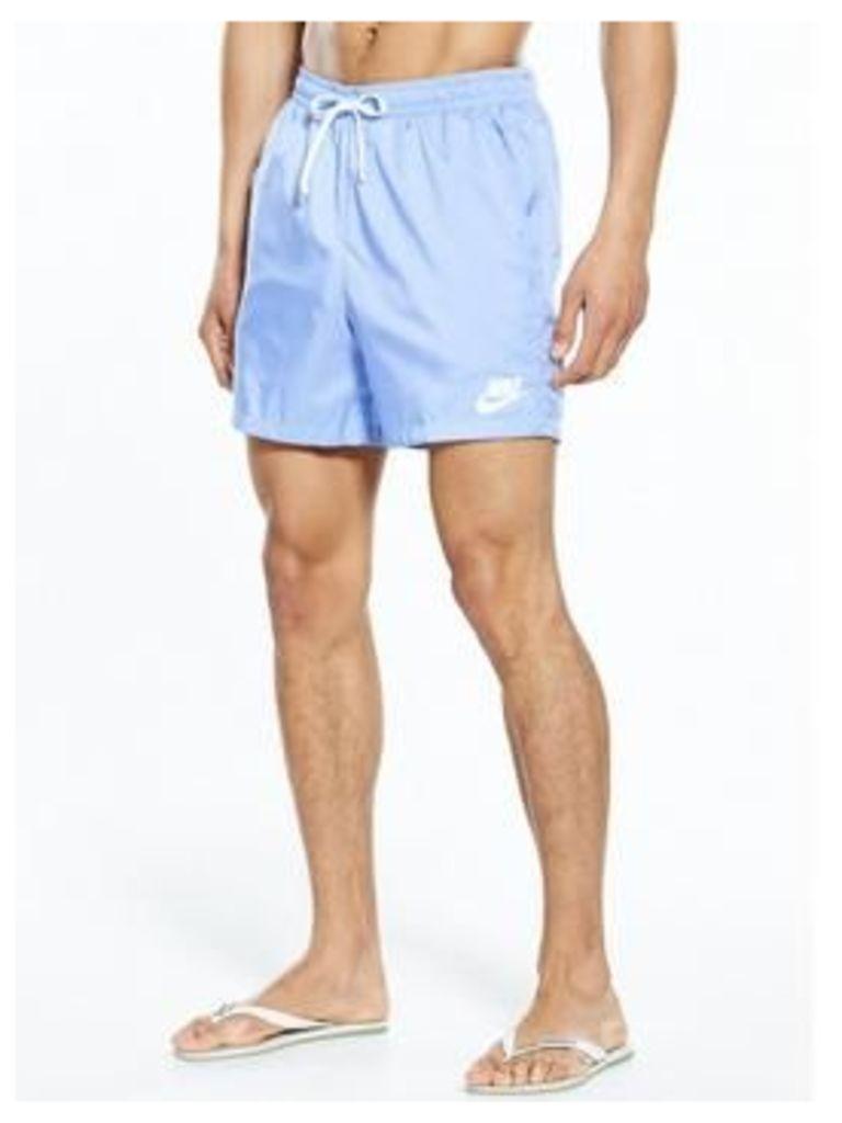 Nike Sportswear Woven Shorts, Light Blue, Size Xl, Men