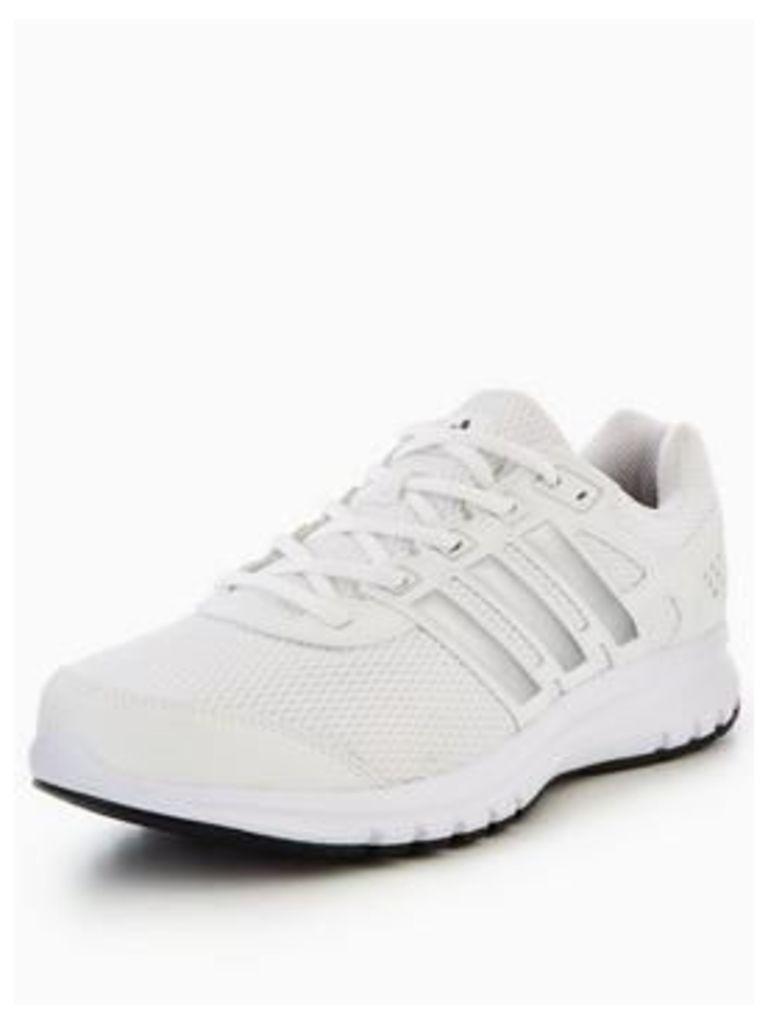 adidas Duramo Lite, White/Silver/Black, Size 6, Men