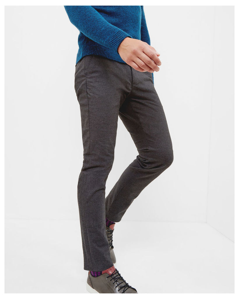 Ted Baker Slim fit trousers Charcoal