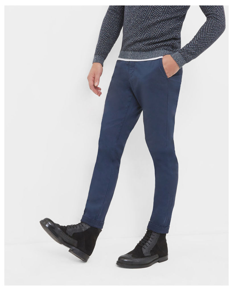 Ted Baker Tapered fit chinos Dark Blue