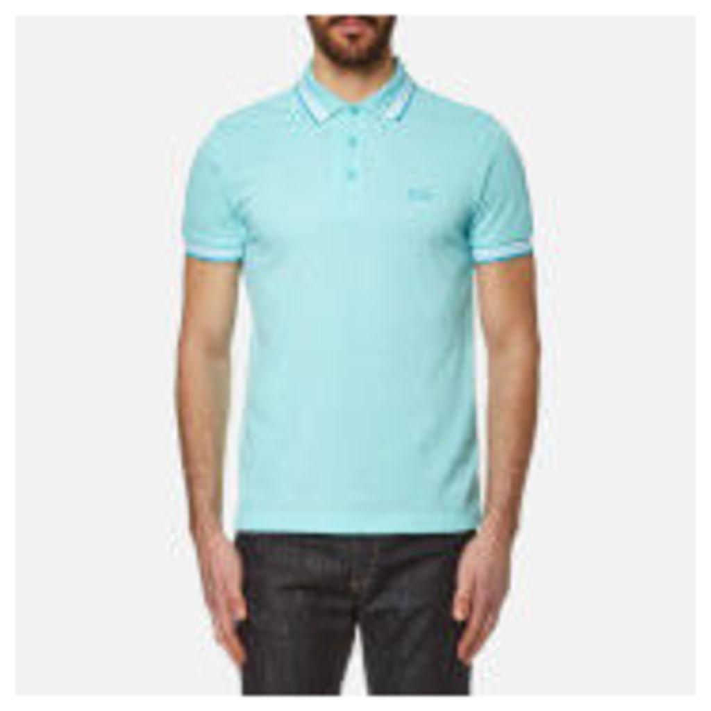 BOSS Green Men's Paddy Polo Shirt - Open Blue