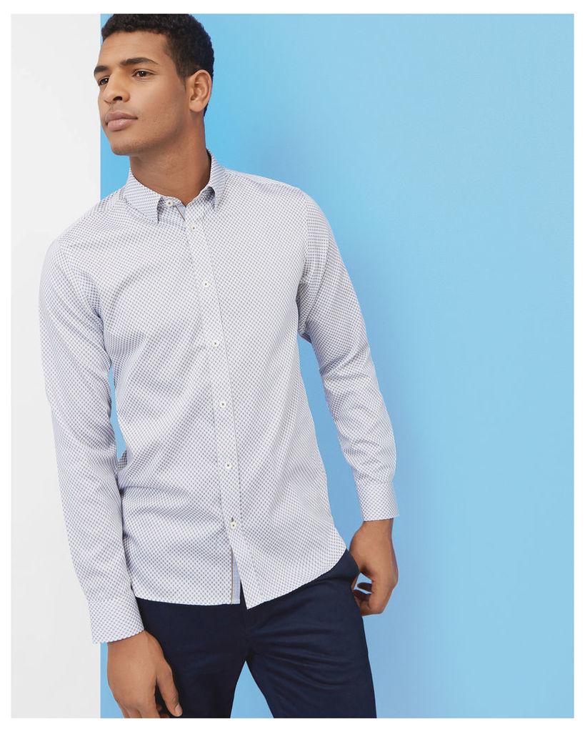 Ted Baker Geo print shirt White