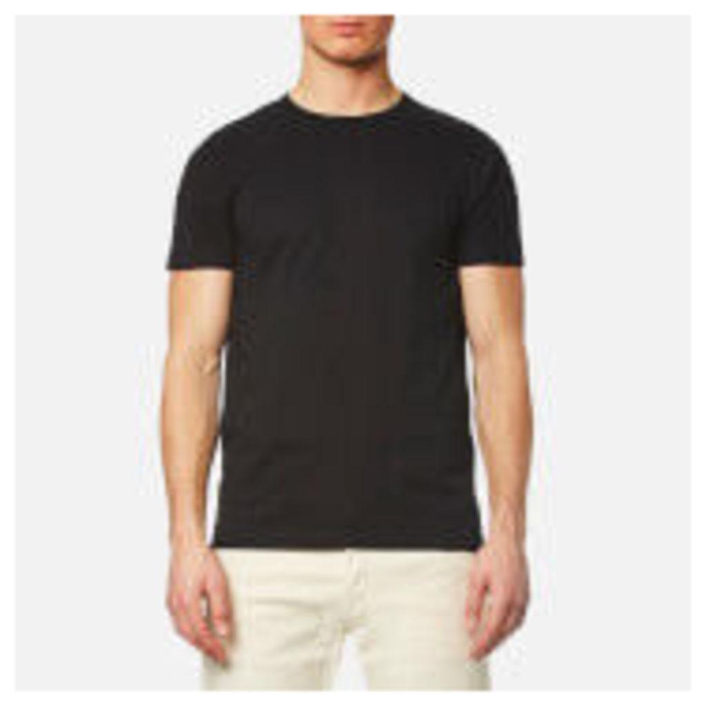 Edwin Men's Double Pack Short Sleeve T-Shirt - Black - M