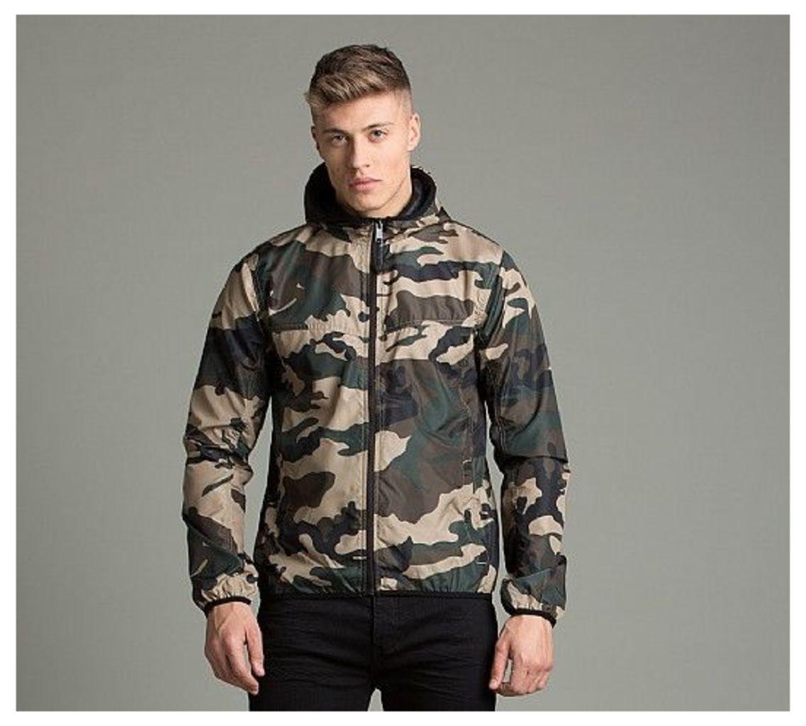 Pep Camo Windrunner Jacket