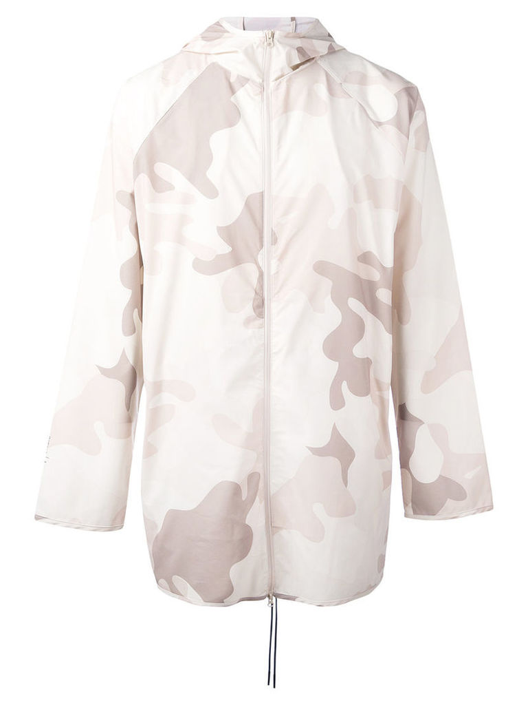Puma Stampd camouflage print parka - men - Polyester/Spandex/Elastane - L, Nude/Neutrals