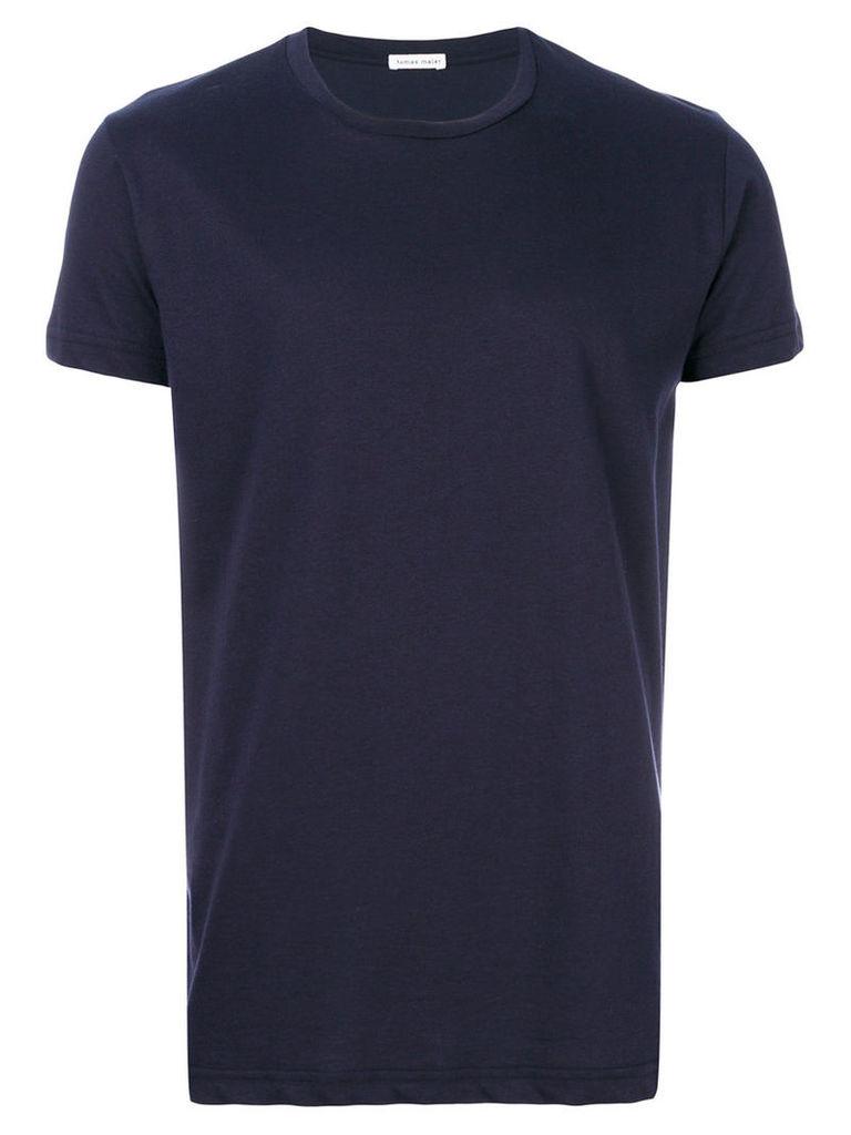 Tomas Maier - crew-neck T-shirt - men - Cotton - XL, Black