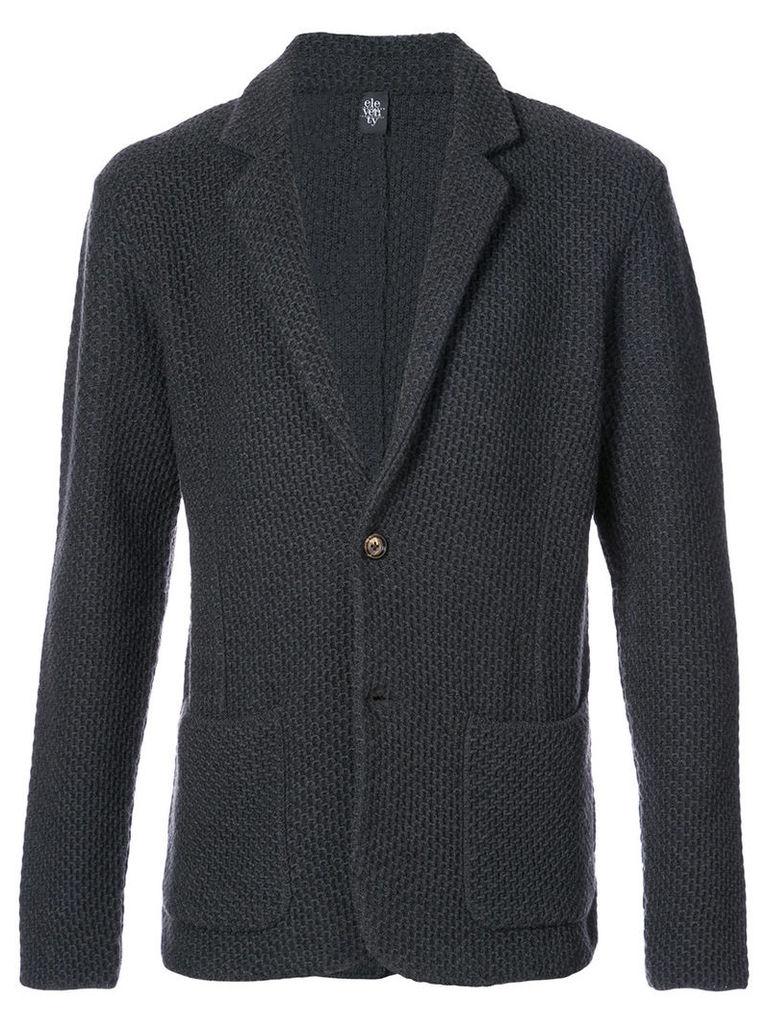 Eleventy - blazer design one button cardigan - men - Virgin Wool - S, Grey