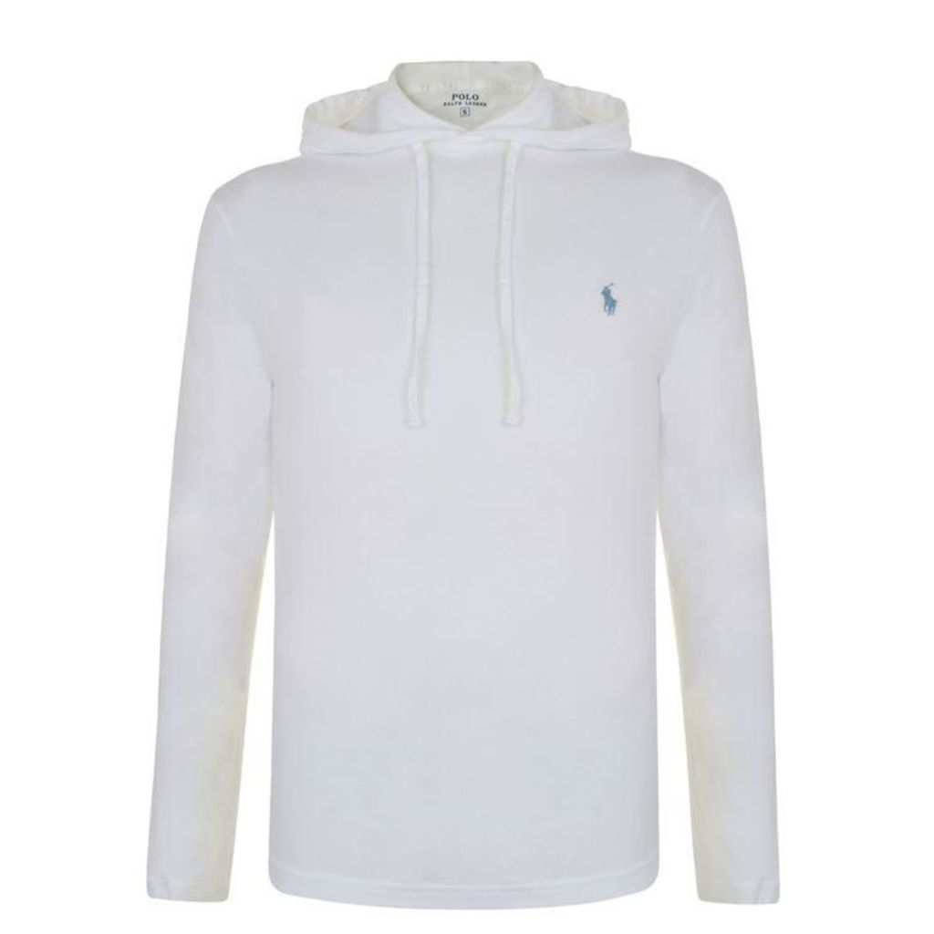 POLO RALPH LAUREN Washed Logo Hooded Sweatshirt