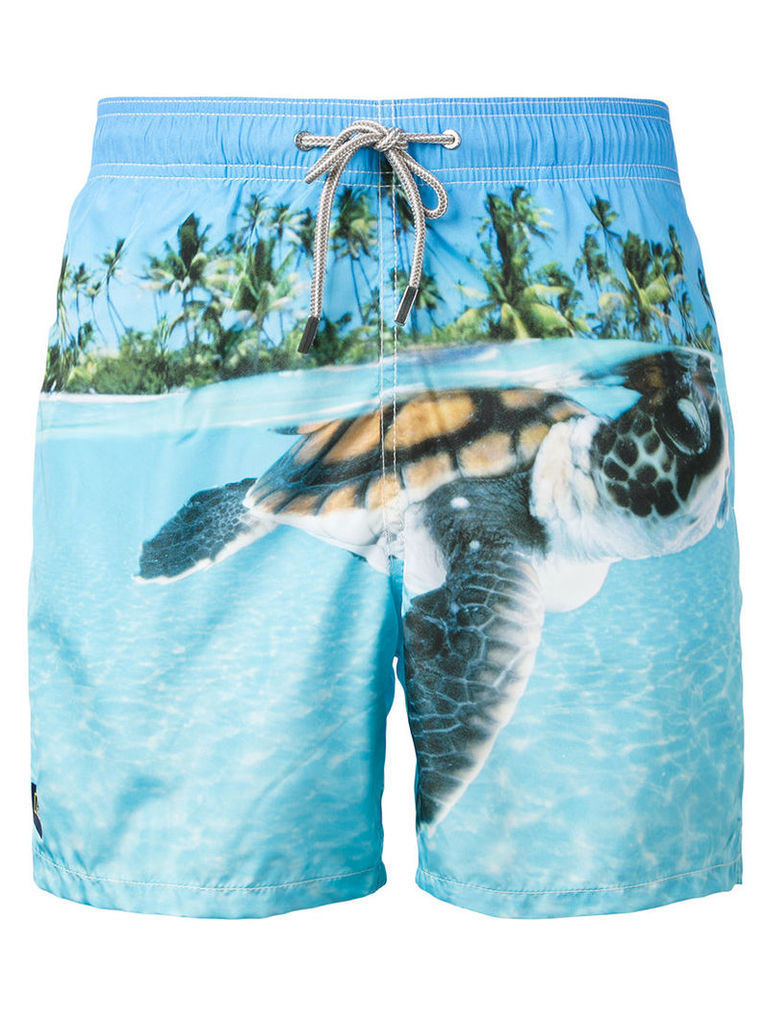 Mc2 Saint Barth - printed swim shorts - men - Polyamide/Polyester/Spandex/Elastane - XL