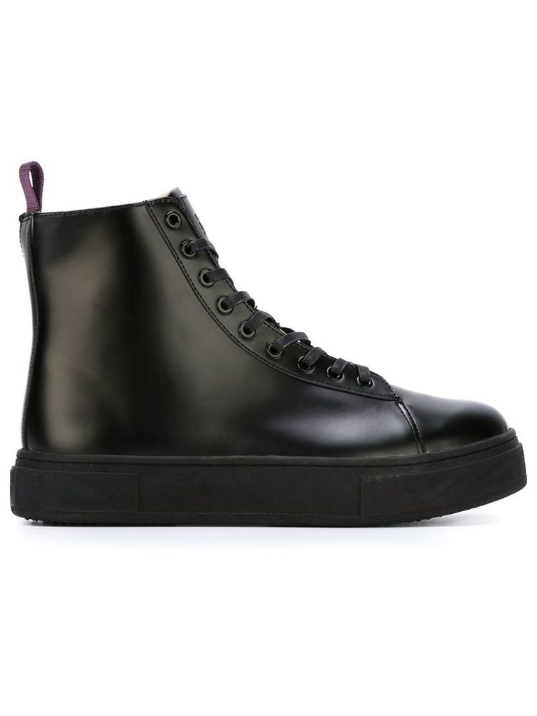 Eytys - 'Kibo' hi-top sneakers - men - Leather/rubber - 36, Black