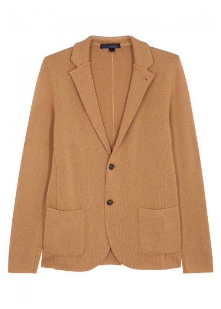 LARDINI Camel Wool Jacket - Size L