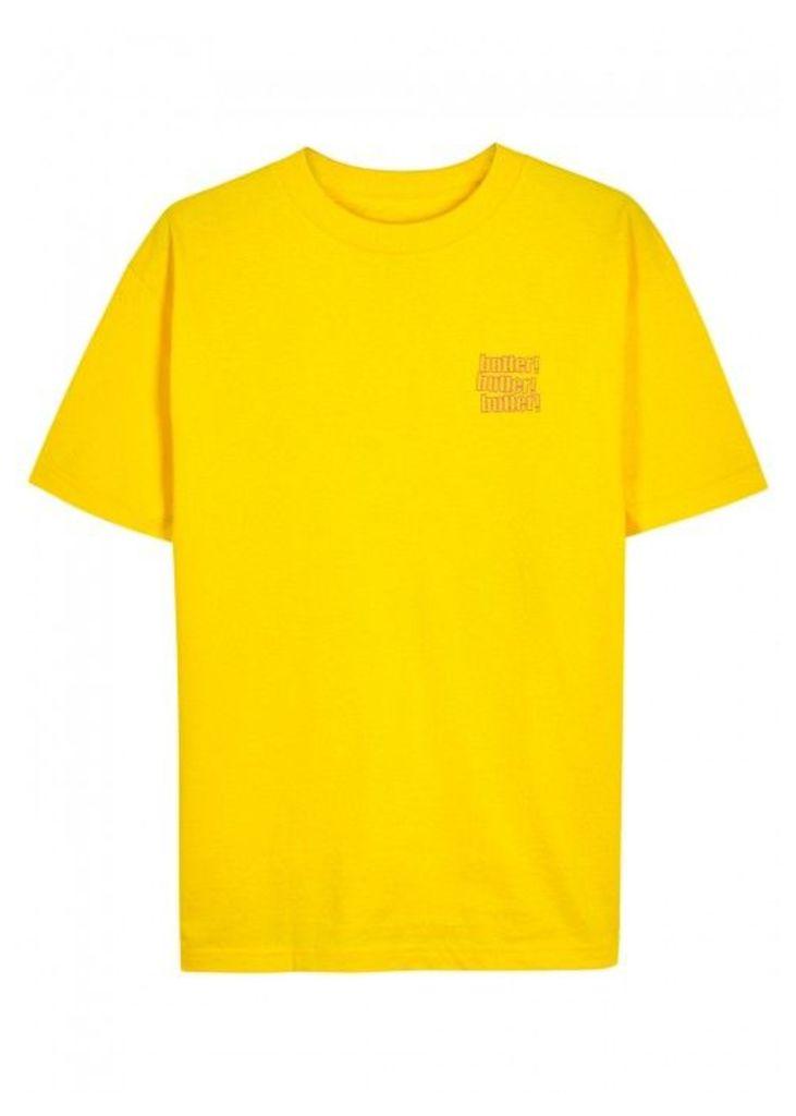 Butter Goods Upper Egypt Yellow Cotton T-shirt - Size S
