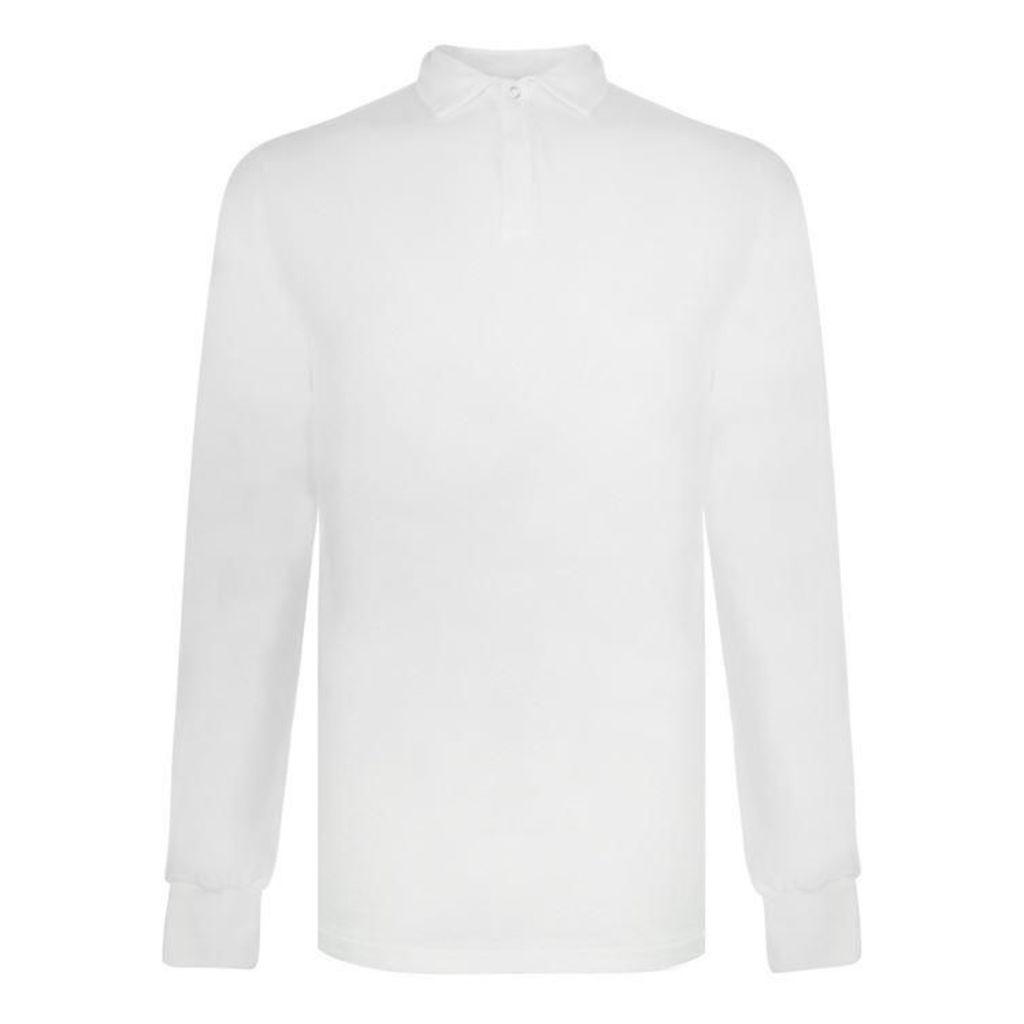 LES BASICS Le Long Sleeved Polo