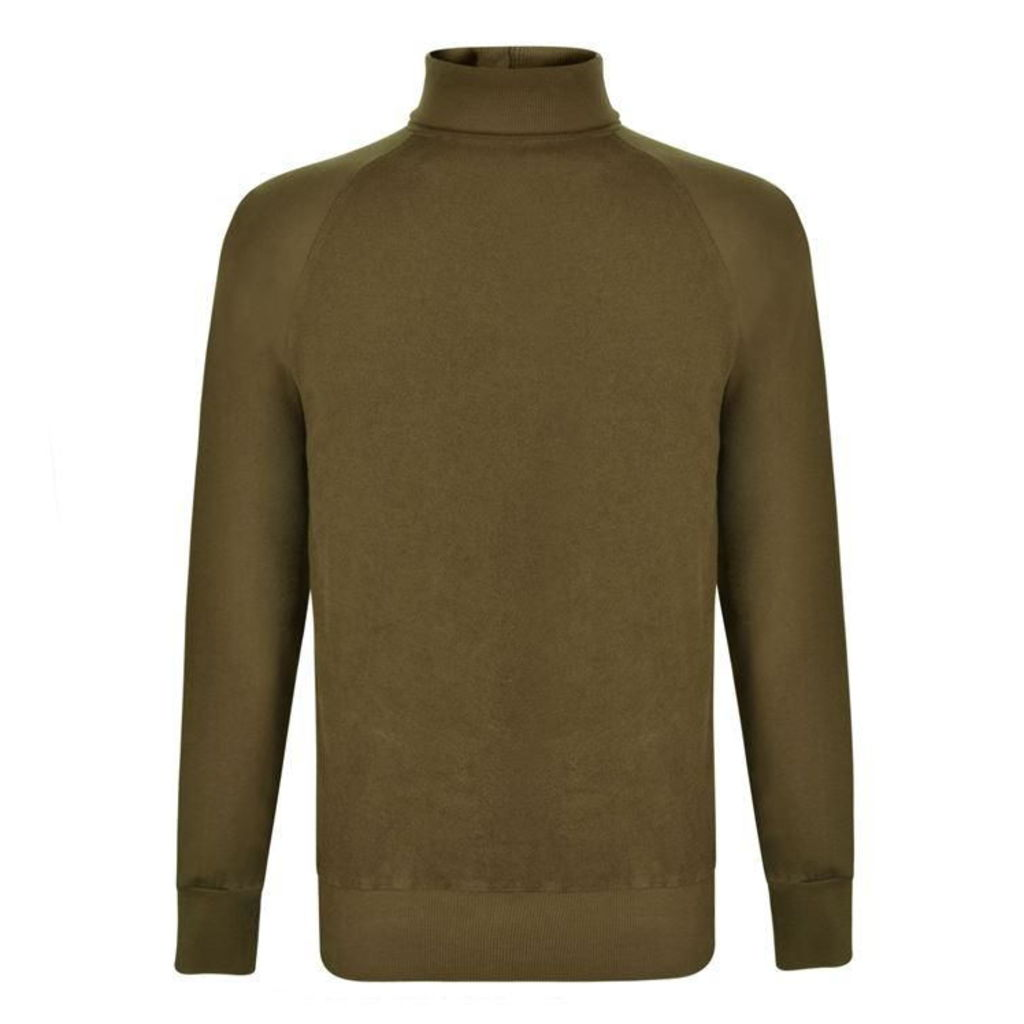 LES BASICS Roll Neck Sweatshirt Jumper