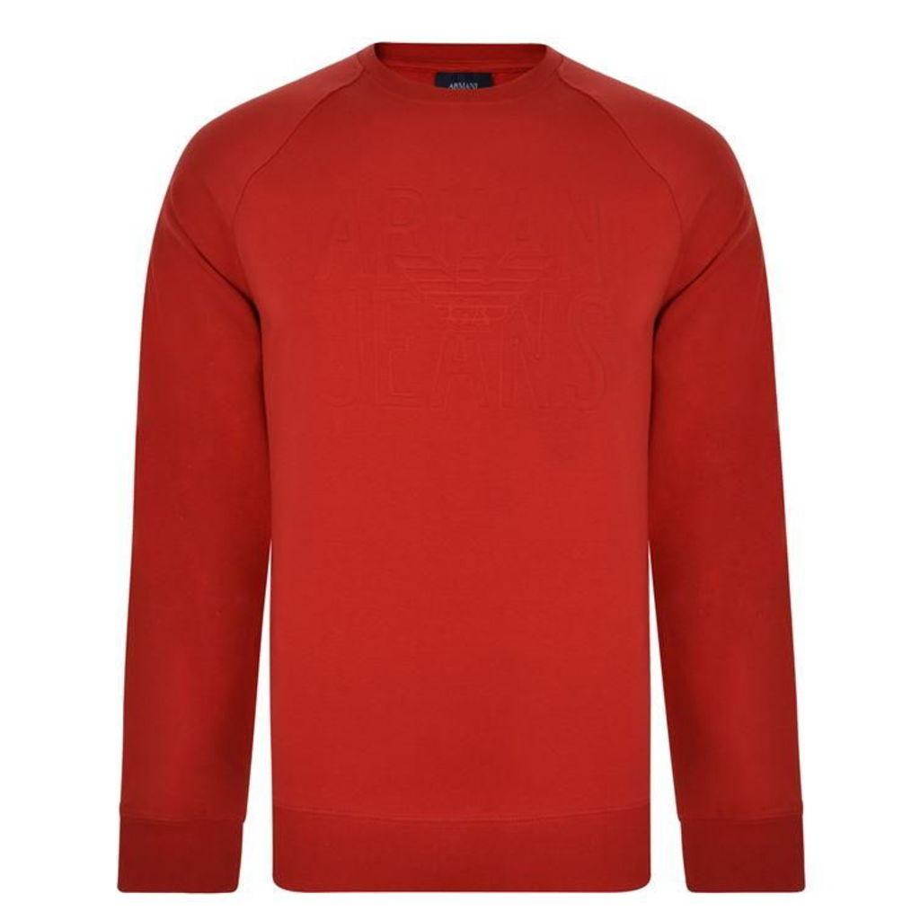 ARMANI JEANS Chest Logo Sweatshirt