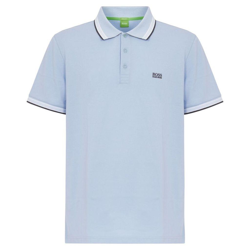 Hugo Boss Green Blue Polo 50302557
