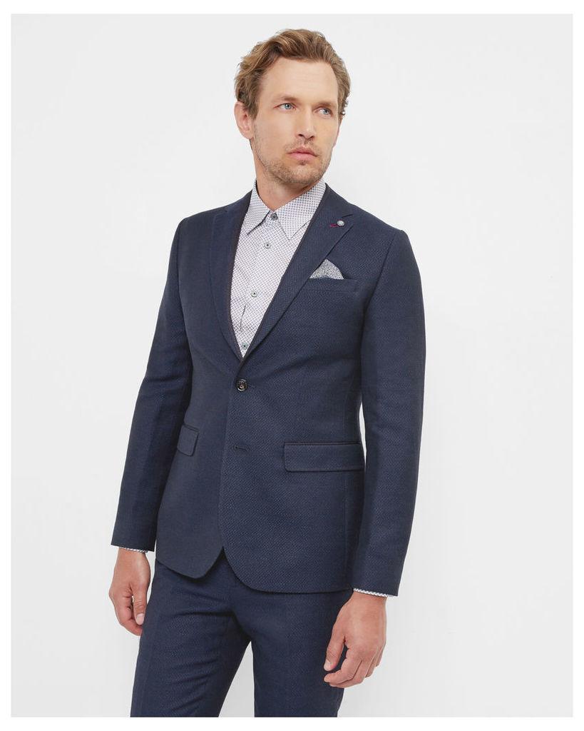 Ted Baker Modern fit jacket Navy