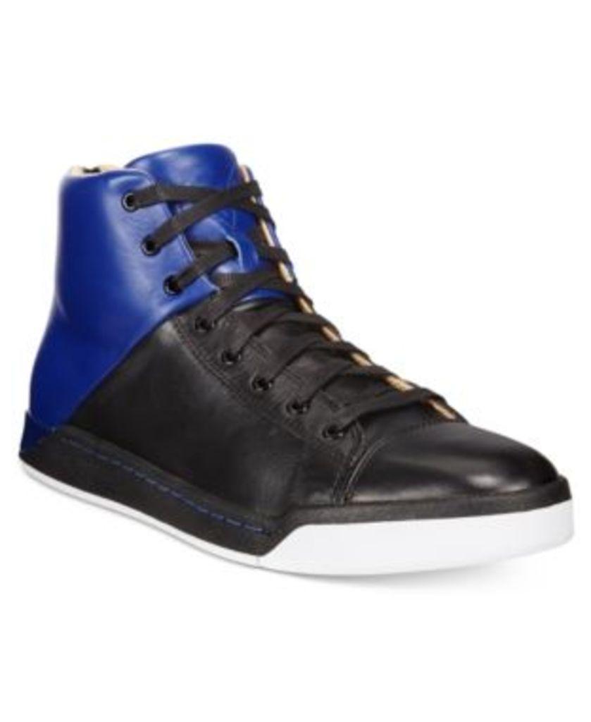 Diesel Men's Tempus S-Emerald Leather Sneakers Men's Shoes
