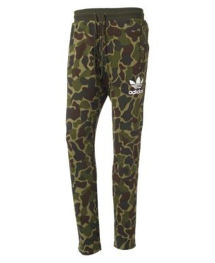 adidas Originals Men's Fleece Camo-Print Track Pants