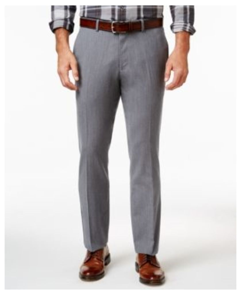 Tasso Elba Men's Cotton Wool Blend Pants, Only at Macy's