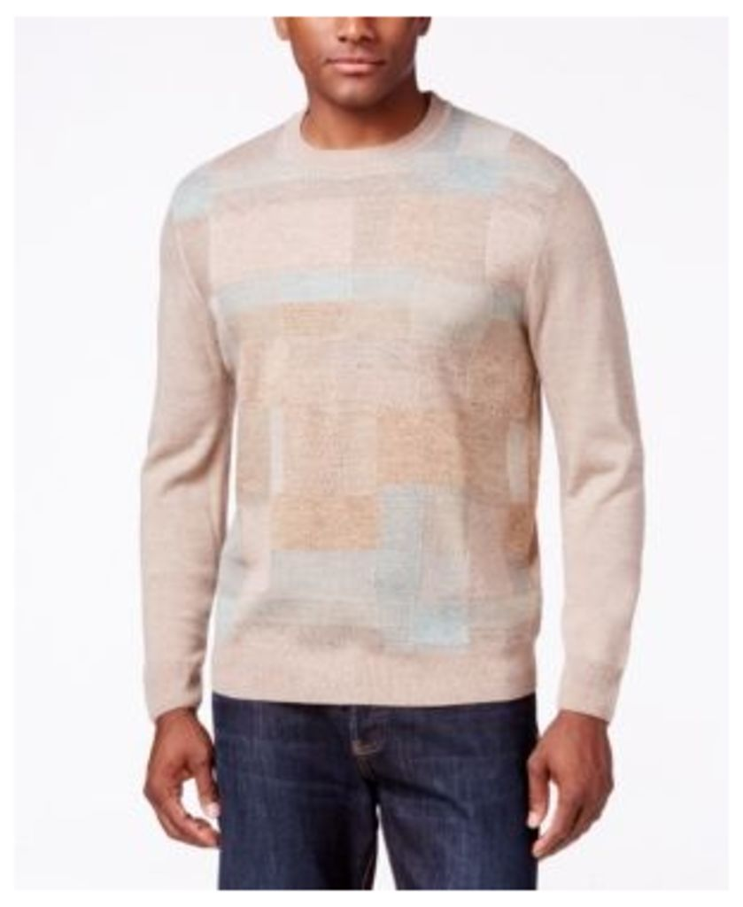 Weatherproof Vintage Men's Blocked Sweater, Classic Fit