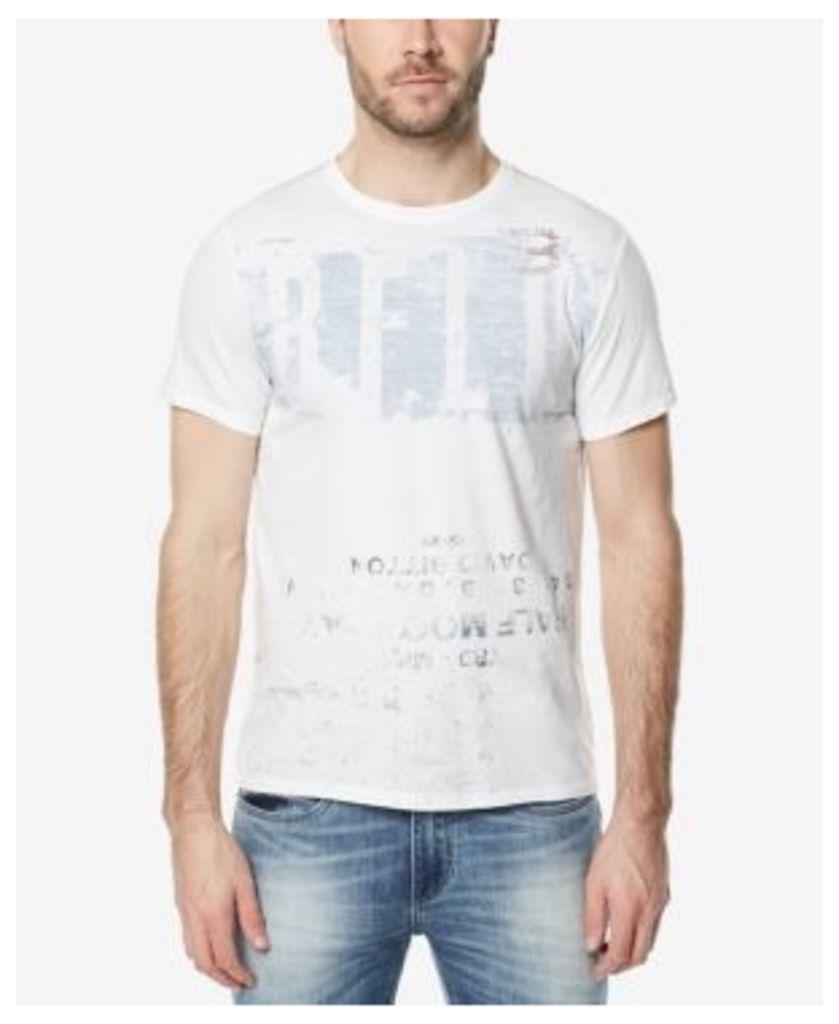 Buffalo David Bitton Men's Tasif Graphic-Print T-Shirt