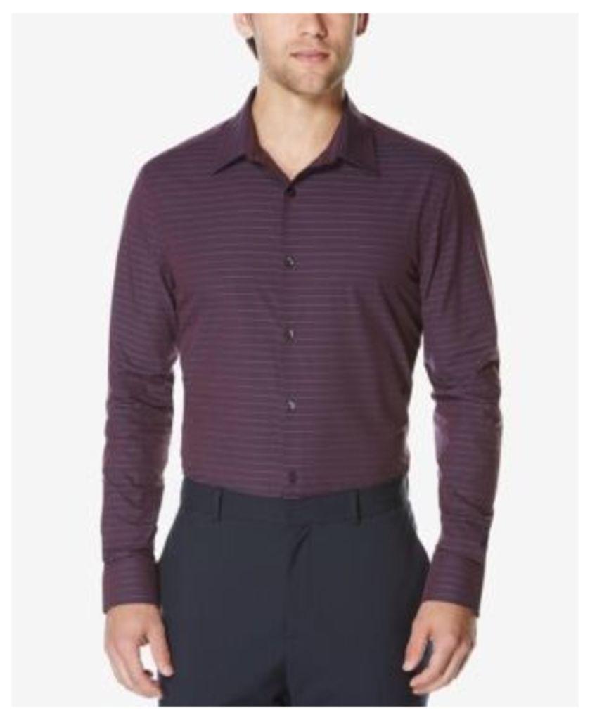 Perry Ellis Men's Men's Striped Dobby Shirt