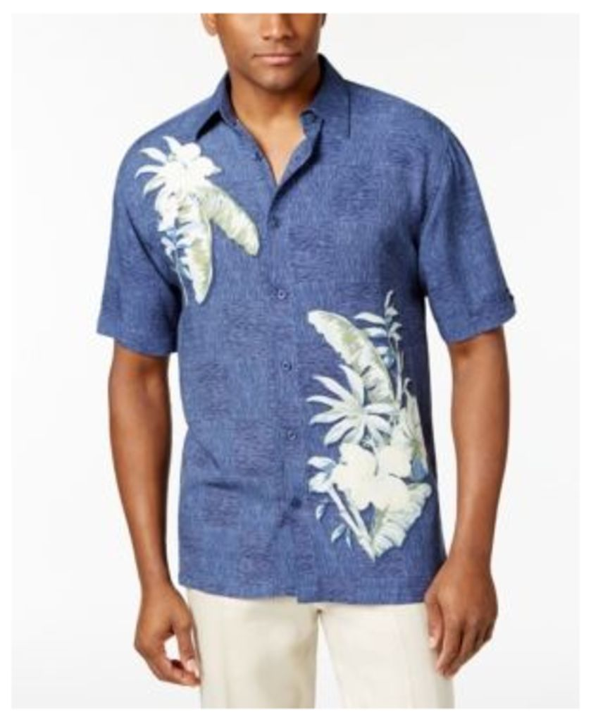 Cubavera Men's Patchwork Tropical Shirt