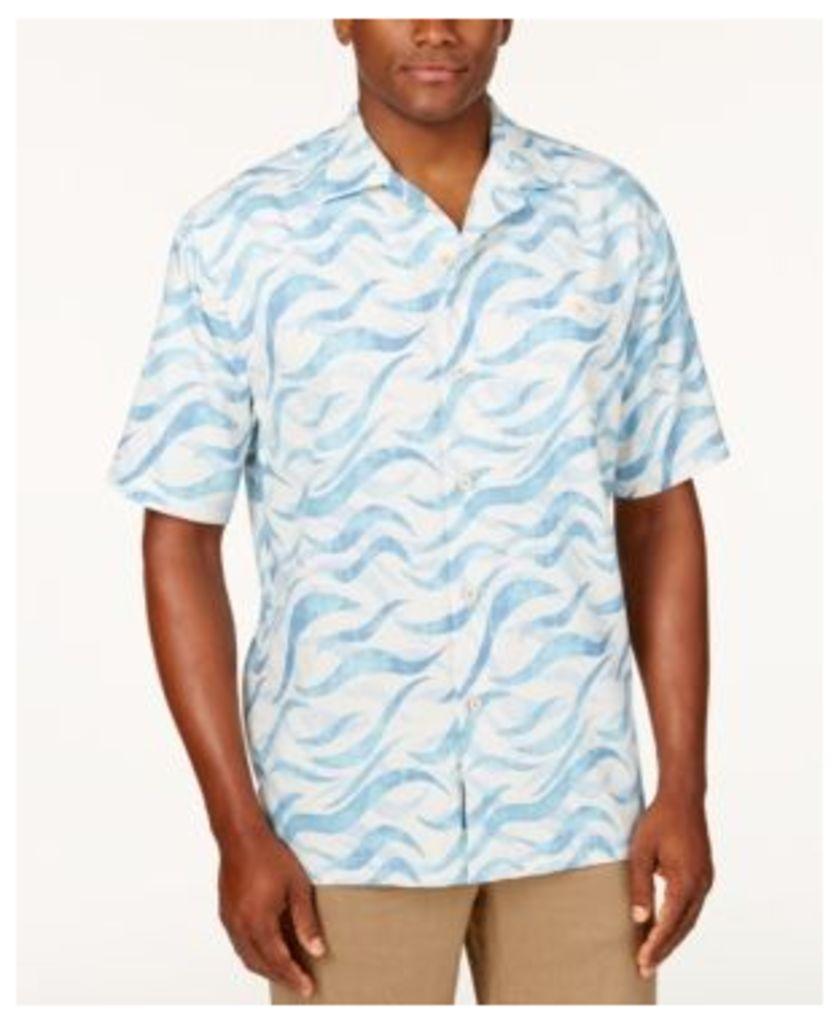 Tommy Bahama Men's Retsina Wave-Print Shirt
