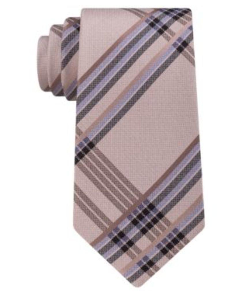 Kenneth Cole Reaction Men's Space Plaid Silk Tie