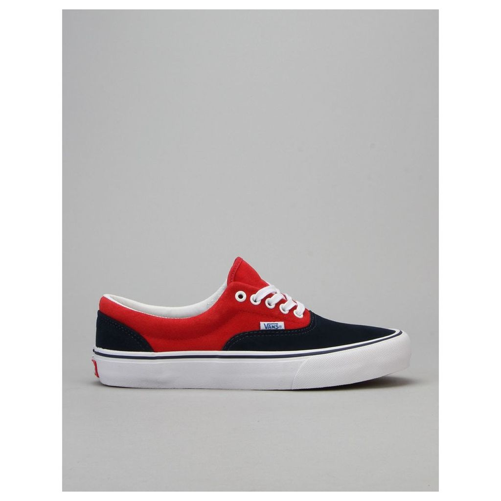 Vans Era Pro Skate Shoes - 76 Navy/Red (UK 6)