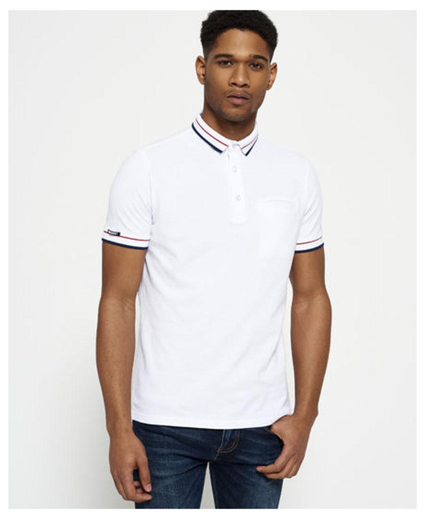 Superdry City Peleton Tipped Pocket Polo Shirt