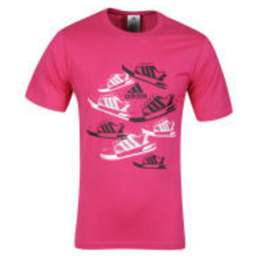 Adidas Men's Per Trainer T-Shirt - Radian Pink