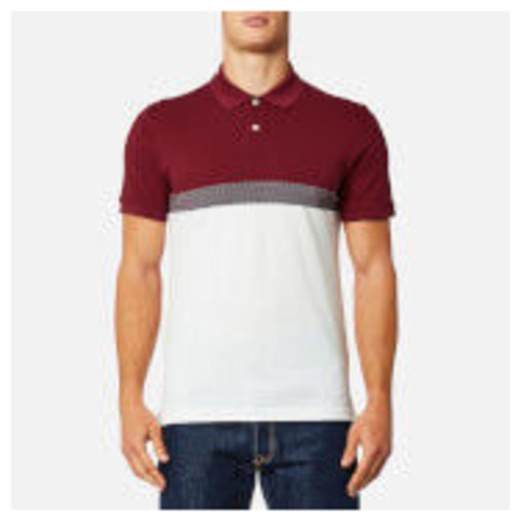 GANT Men's Tech Prep Pique Rugger Polo Shirt - Mahogany Red