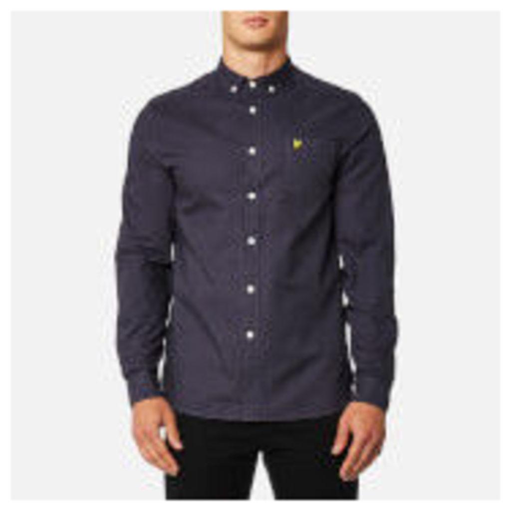 Lyle & Scott Men's Garment Dye Oxford Shirt - Washed Grey